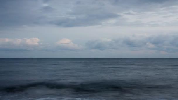 pohled na moře a oblaka v ibiza