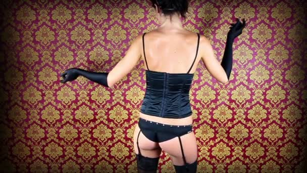 sexy pozadí gogo tanečnice