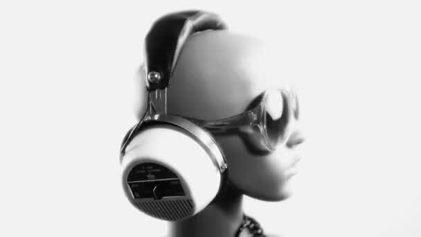 unikátní stop-motion klip hlavu manekýnka módní