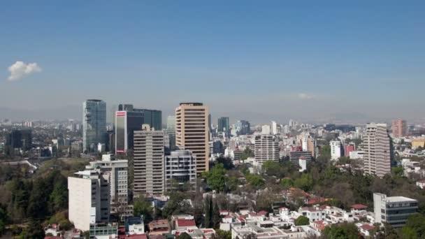 time-lapse z mexico city skyline