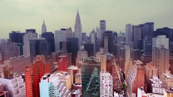 pohled na panorama Manhattanu