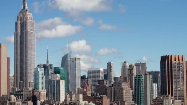 Timelapse of midtown manhattan skyline