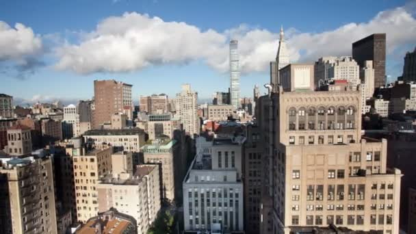 Timelapse of manhattan skyline