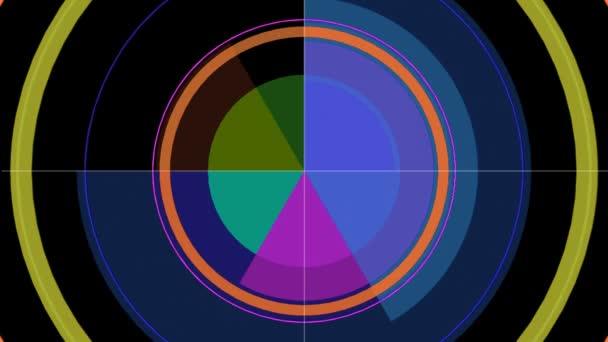 abstraktní grafické vzory a pohybu