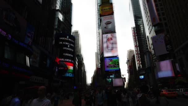 Timelpase of times square, new york