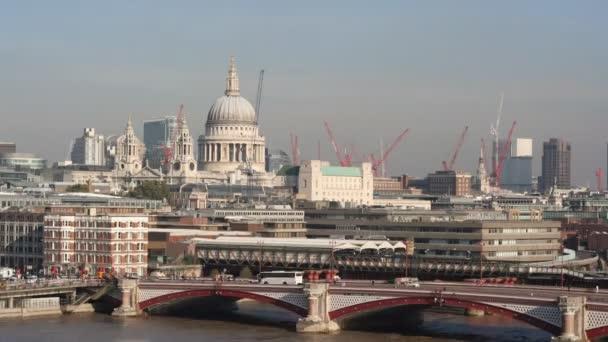 St pauls katedrála a london Panorama
