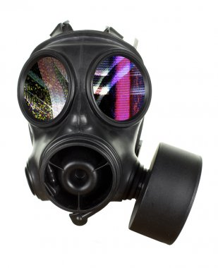 """Картина, постер, плакат, фотообои """"маска газа """", артикул 40647305"""