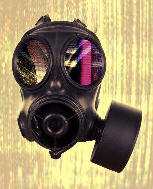 """Картина, постер, плакат, фотообои """"маска газа """", артикул 40647379"""