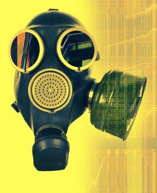 """Картина, постер, плакат, фотообои """"маска газа """", артикул 40647389"""
