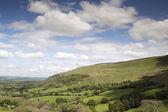 Fotografie velšské krajiny v regionu brecon beacons
