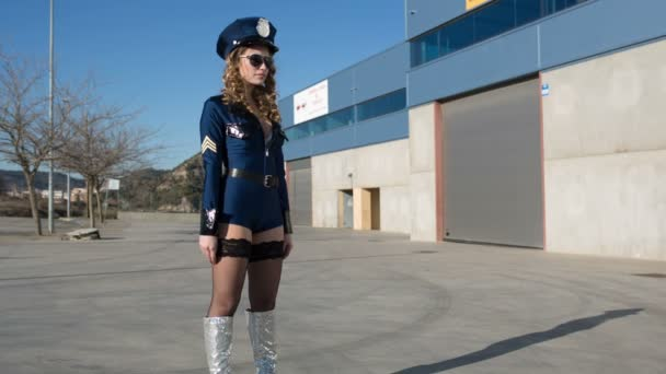 sexy policie žena