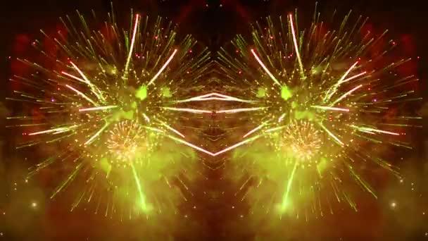 Feuerwerk Explosion Nacht Valencia festival