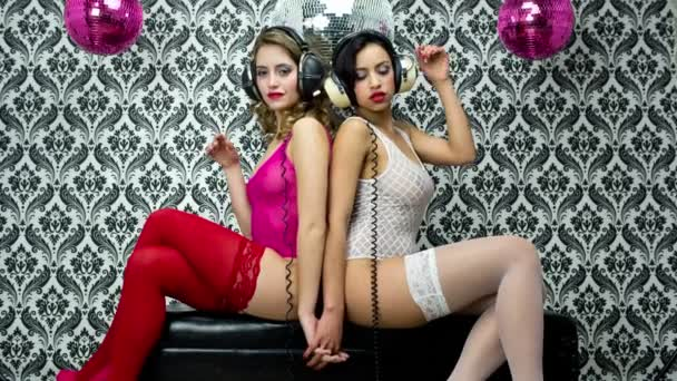 sexy disco vinobraní ženy