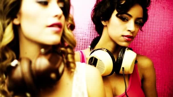 sexy Disco Tänzerin Mädchen Party