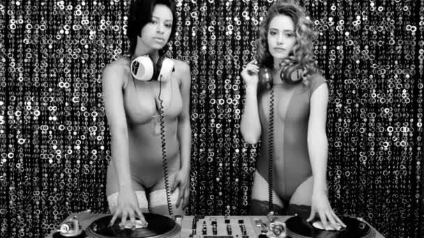 sexy disco dj strana žen hudba