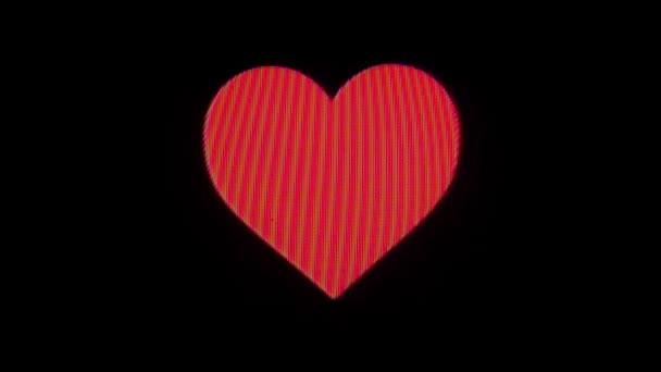 čerpací symbol srdce