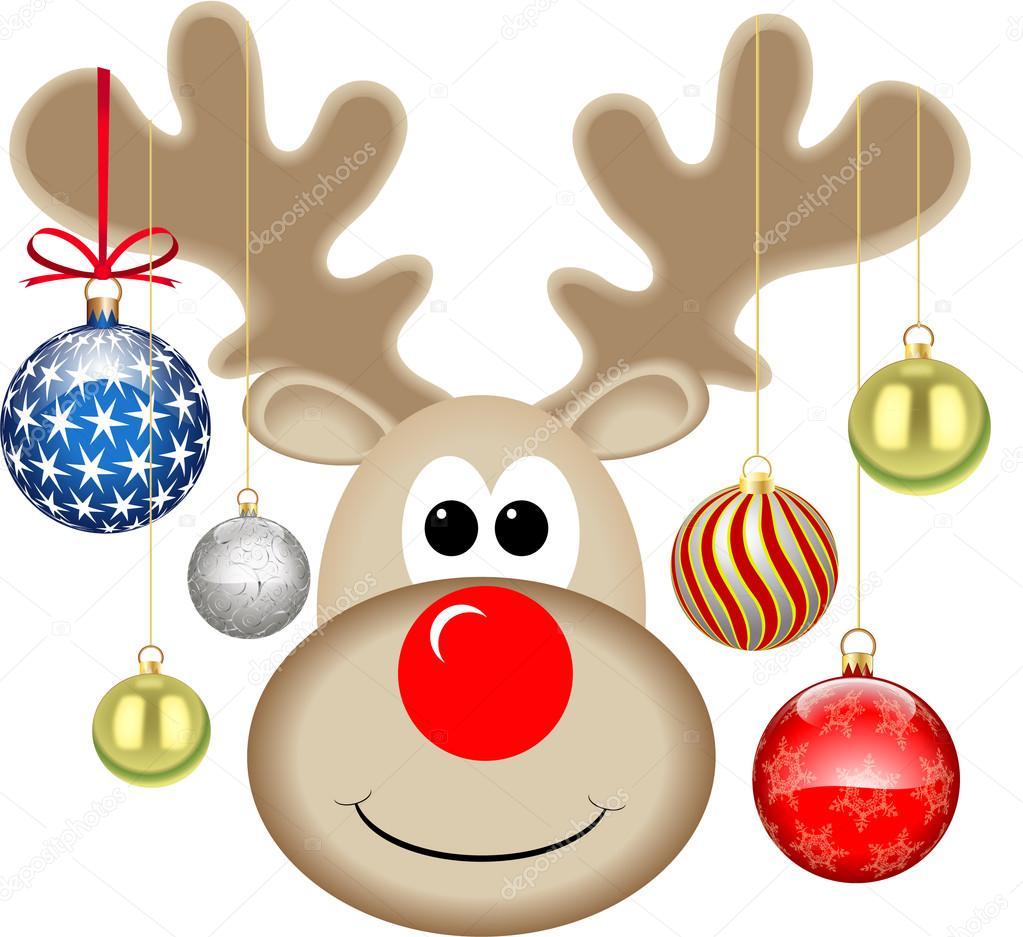 Weihnachten Rudolph — Stockvektor © jamesstar #45991583