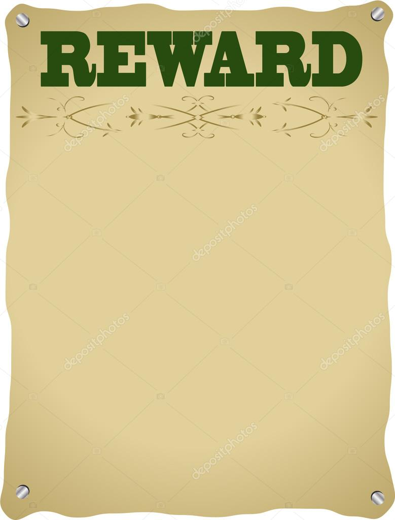 reward poster stock photo jamesstar 51773855