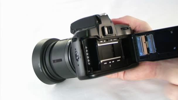 Loading SLR Camera
