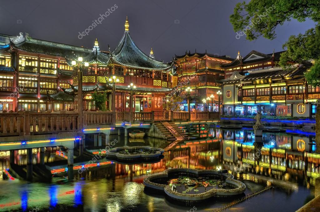 Yuyuan Garten Und Teehaus In Shanghai Stockfoto Kstepien 12643998
