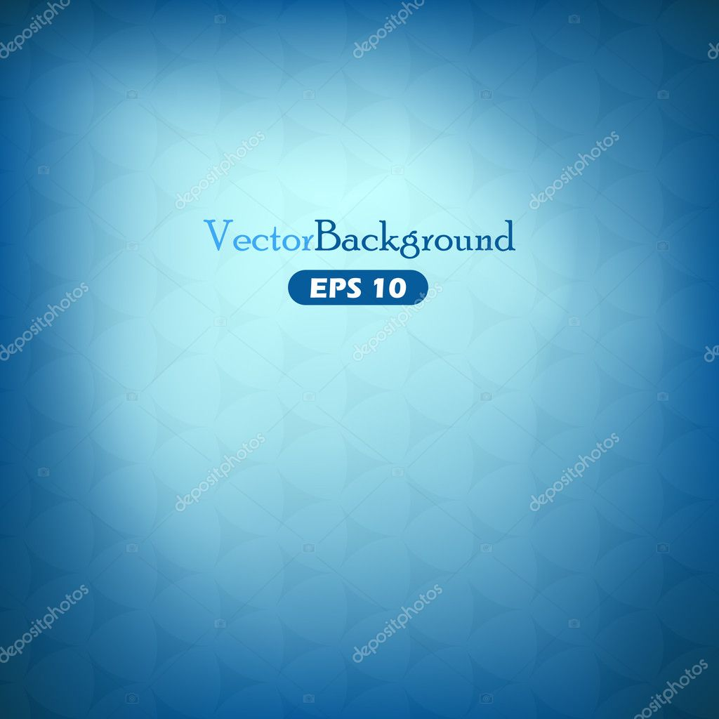 Blue abstract vector background