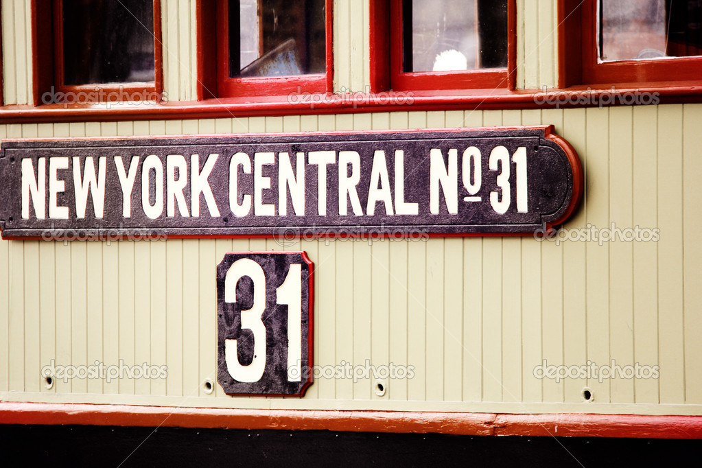 The pilot house of the rail tugboat New York Central No  31 — Stock