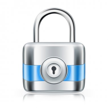 Lock, icon stock vector