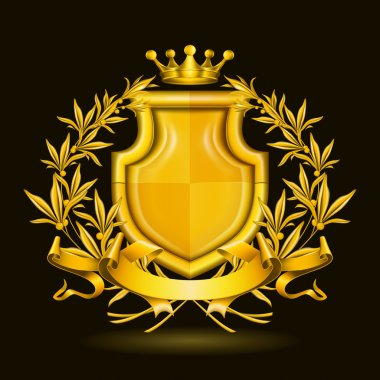 Coat of arms, vector