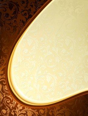 Luxury Background, vector clip art vector