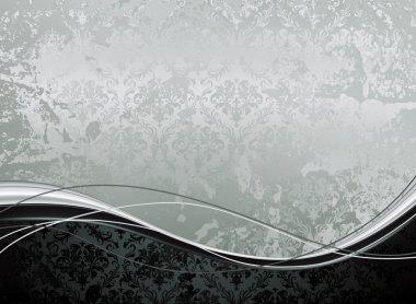 Wallpaper Background horizontal, vector