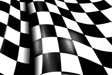 Sports Checkered Background, vector