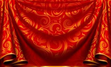 Curtain pattern