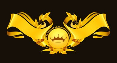Design Element, Emblem gold