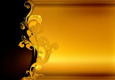 Golden background, 10eps