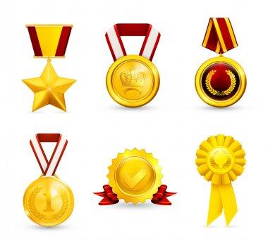 Gold medal, set 10eps