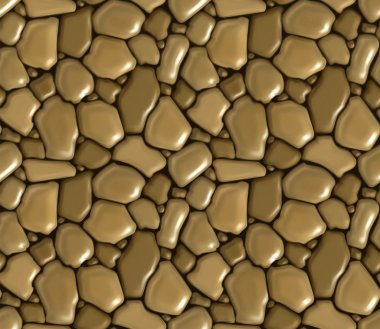 Rubble masonry seamless