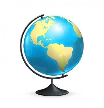 School globe, vector