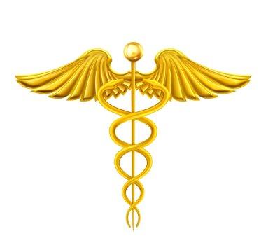 Golden Caduceus