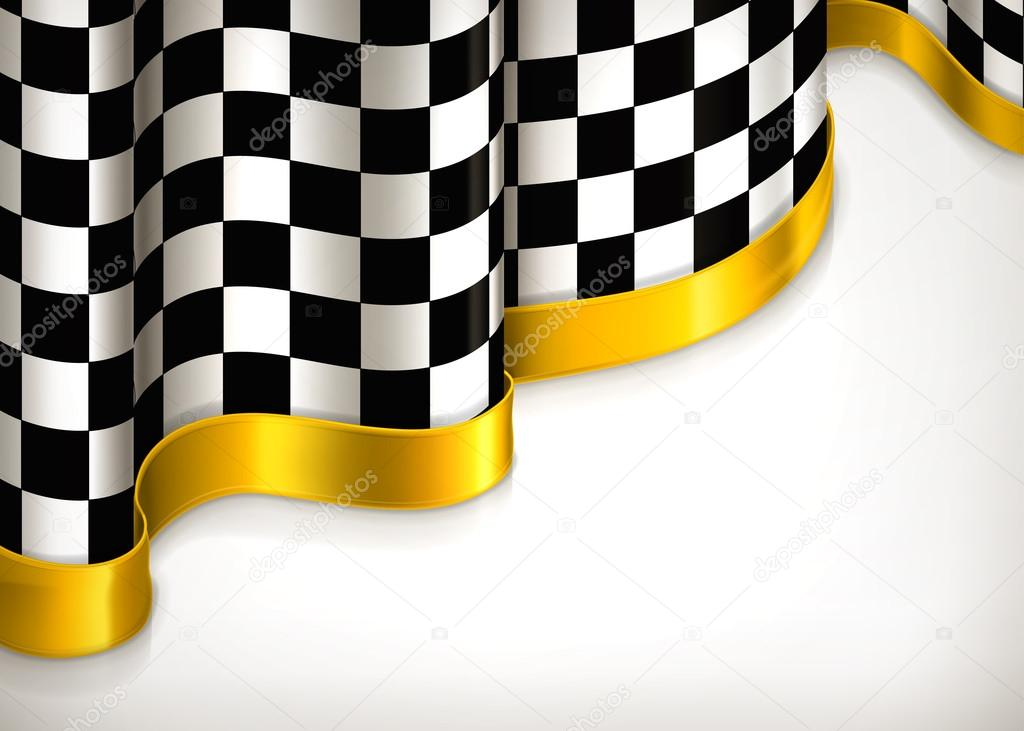 Checkered invitation background, vector