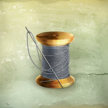 Spool of thread, old-style