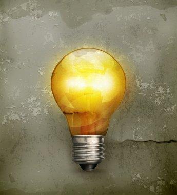 Lightbulb, old-style