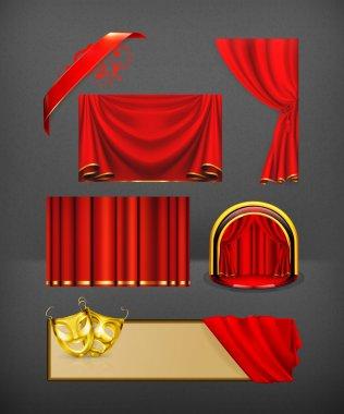 Theater, vector set