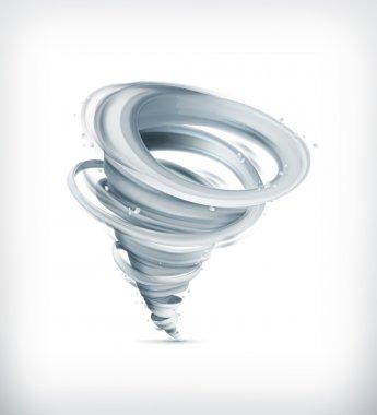 Tornado, vector icon