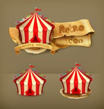 Circus, vector icon