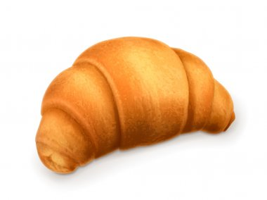 Croissant, vector illustration