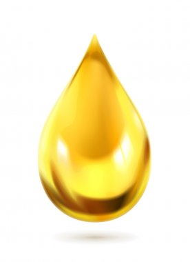 Oil drop, vector icon