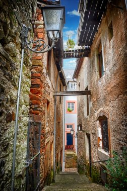 Old narrow street