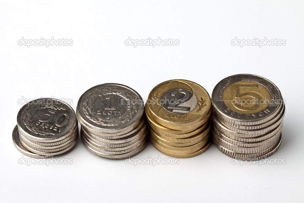 Polnische Münzen Geld Stockfoto Harley 14488723