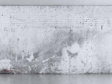 Grunge plaster wall