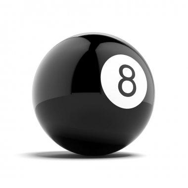 Billiard eight ball